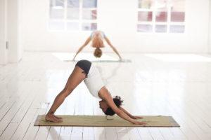 get more flexible-downward dog
