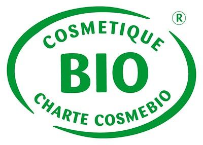 French organic cosmetic logo-Cosmebio