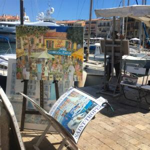 French riviera holidays-saint-tropez-harbor
