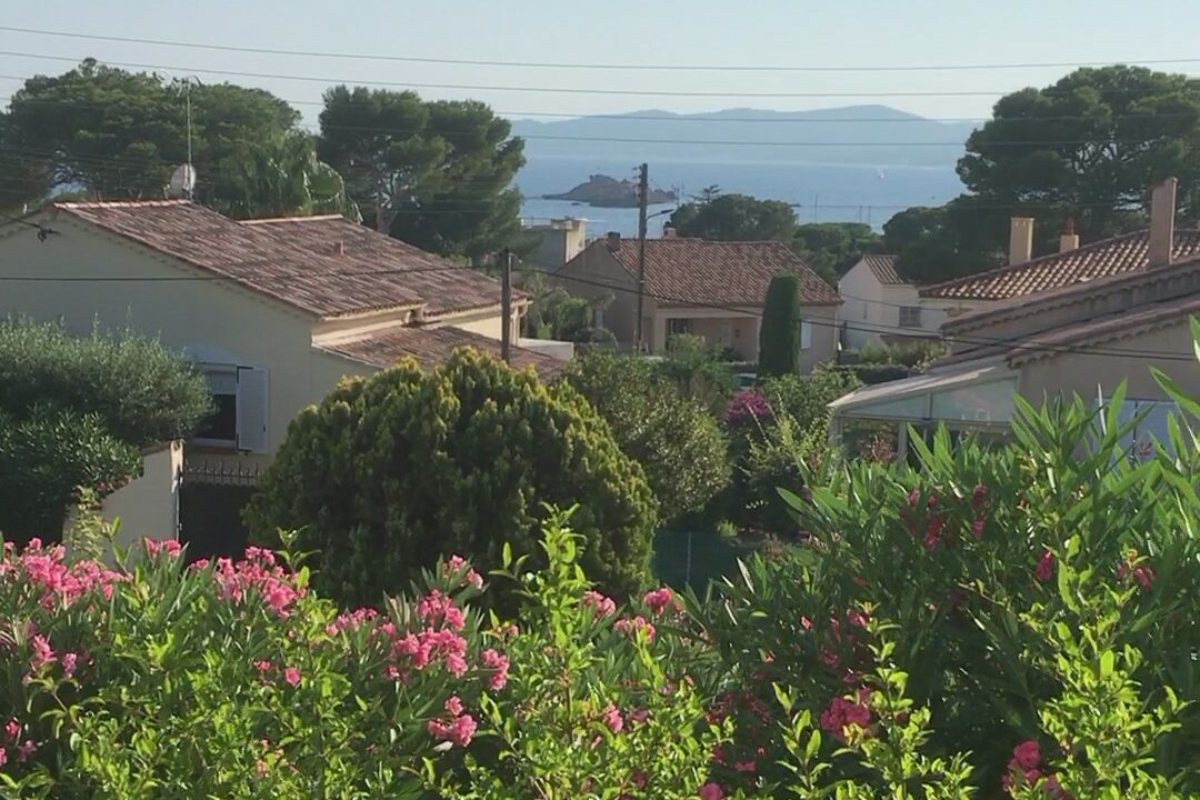 French riviera vacation-saint-raphael-view from balcony