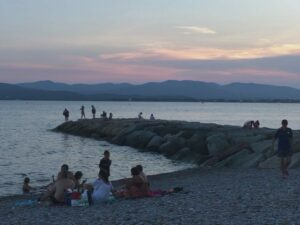 French riviera vacation-saint-raphael-sunset