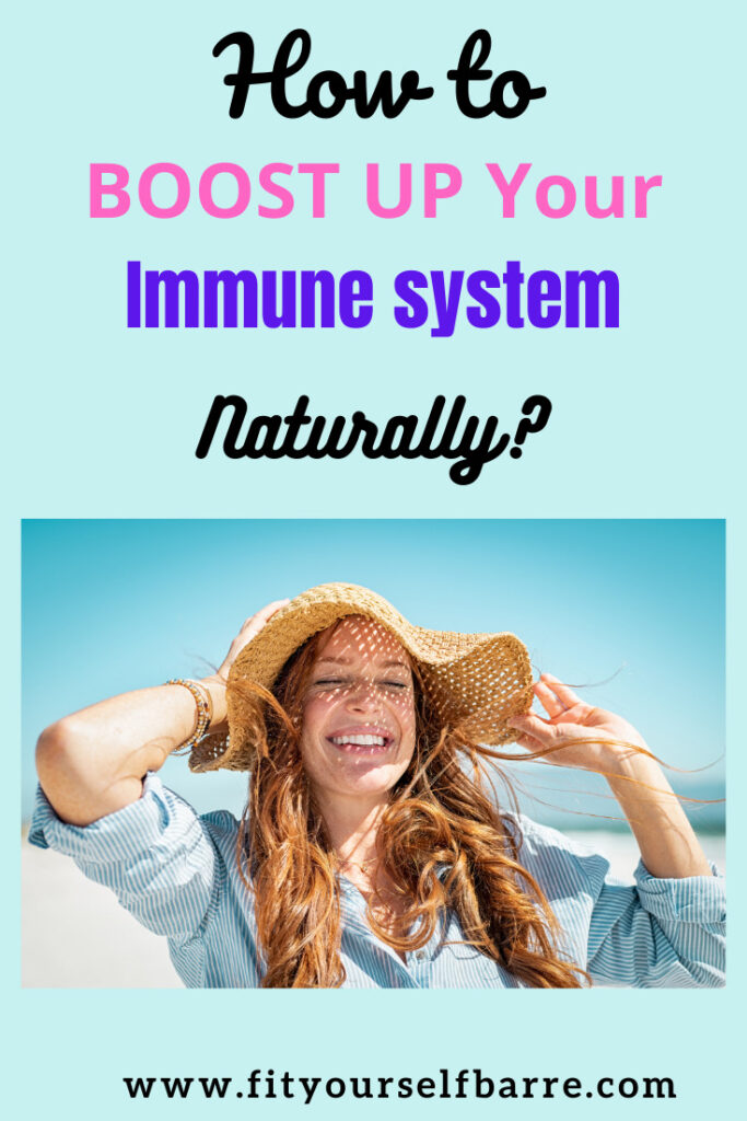 Immune system-woman enjoying summer
