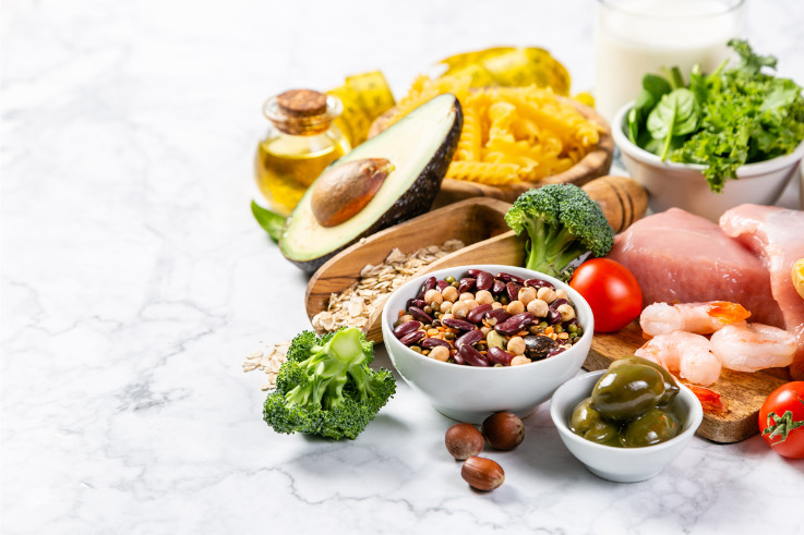 Immune system-mediterranean diet-meat-fish-fruit-vegetables