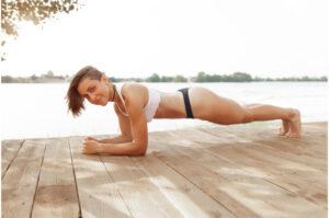 benefits doing planks-elbow plank