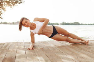 benefits doing planks-side plank